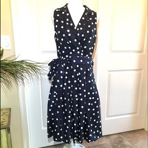 Vintage Inspired polka Dot Dress!!